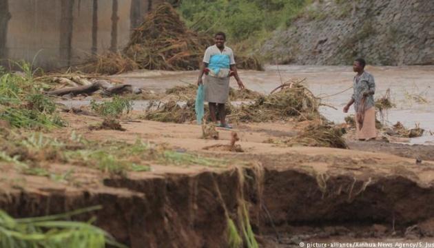 Кількість жертв тропічного циклону в Африці перевищила 160