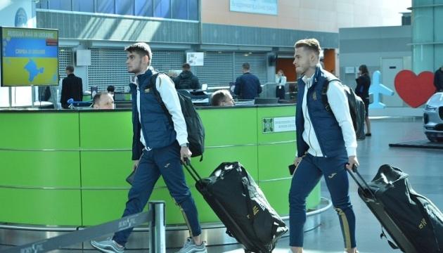 Збірна України U-21 прибула до Белека, де проведе сьогодні два тренування