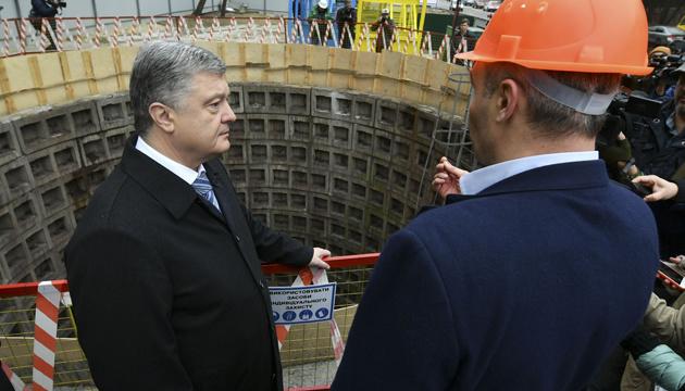 Відновлення будівництва метро є результатом децентралізації - Порошенко