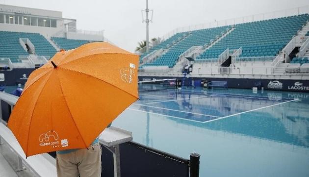 Матчі Ястремської та Козлової на турнірі у Маямі перенесли через дощ