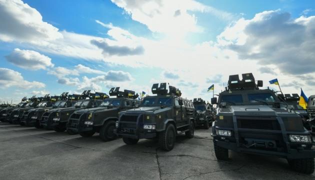 ЗСУ отримали понад 400 одиниць озброєння і військової техніки