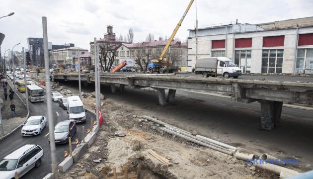 Кличко пояснив, чому може затягнутися будівництво Шулявського мосту