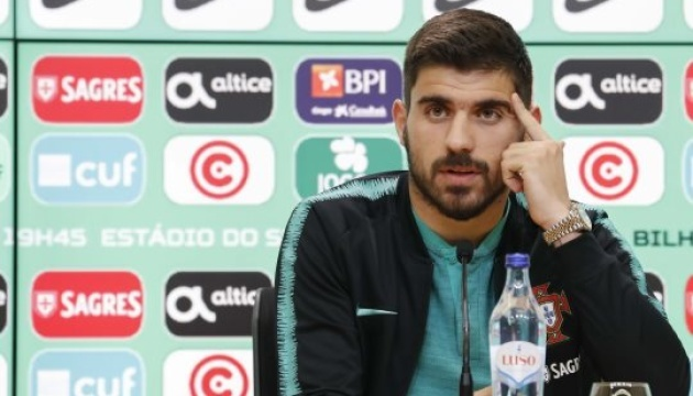 Футбол: форвард Португалії Гедеш перед грою з Україною захворів на грип