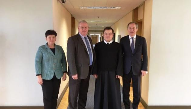 Канцлер Уряду Литви і настоятель храму УГКЦ у Вільнюсі обговорили напрямки співпраці