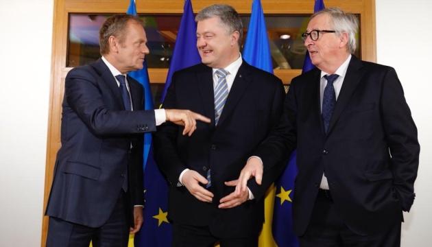 Туск: На мини-саммите с Порошенко обсудили приоритеты сотрудничества на 5 лет