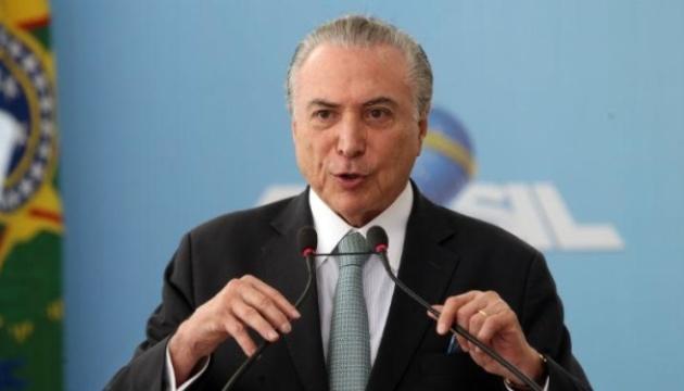 У Бразилії заарештували екс-президента Темера