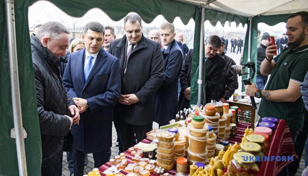 Украина входит в ТОП-7 экспортеров агропродукции, но может лучше — Гройсман
