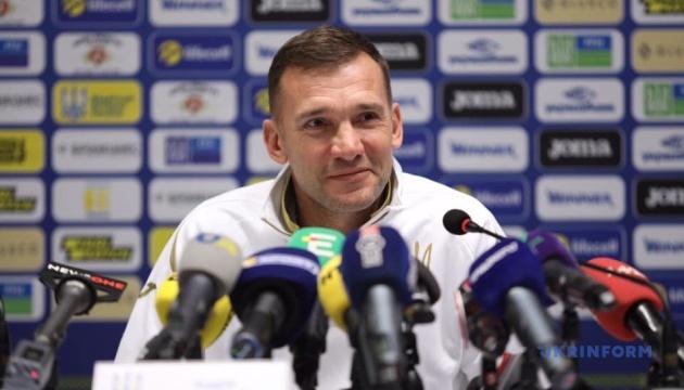 Андрій Шевченко: Ми розраховуємо на очки в матчі з Португалією
