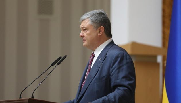 Wynagrodzenia za rok wzrosły o 25% w przeliczeniu na USD - Poroszenko