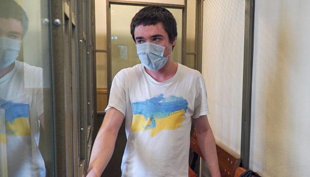 Павло Гриб написав офіційну заяву про голодування