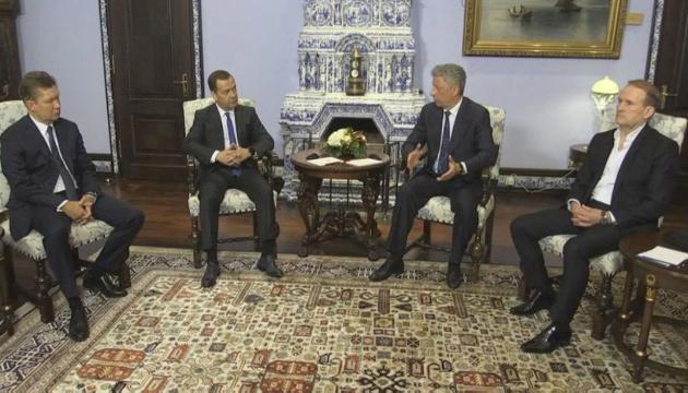 Un candidat à la présidentielle se rend à Moscou pour s'entretenir avec Medvedev et Miller