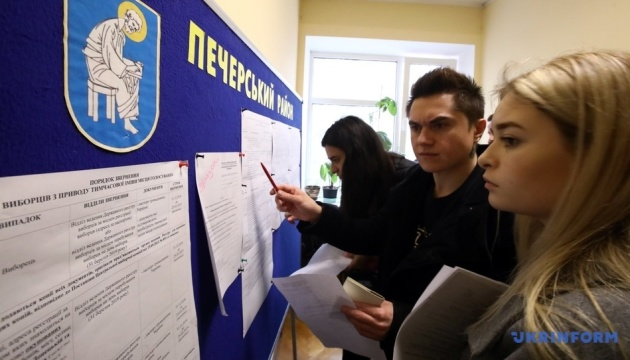 More than 100,000 Ukrainians changed place of voting