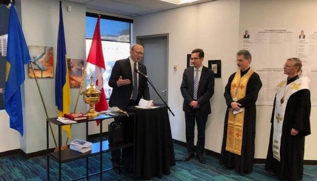 Генконсульство України в канадському Едмонтоні переїхало у нове приміщення