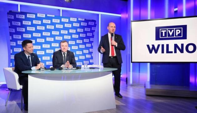 Польша запускает в Литве телеканал для борьбы с российской пропагандой