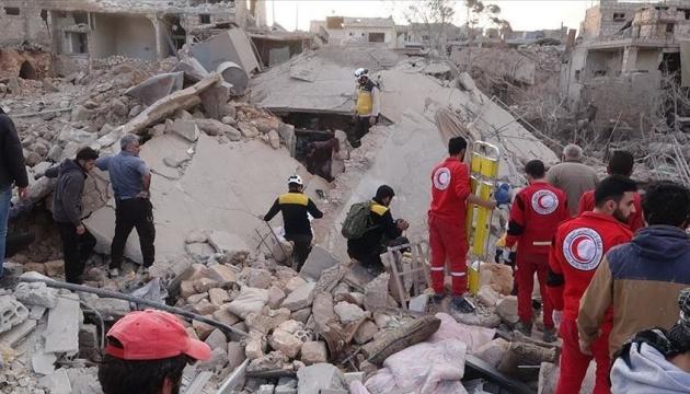 Авиация РФ нанесла удары по сирийскому Идлибу, 15 погибших, десятки раненых