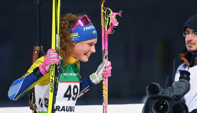 Шведка Еберг виграла мас-старт на етапі Кубка світу з біатлону в Норвегії