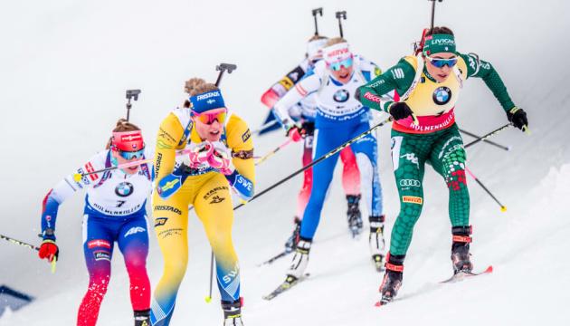 Збірна України назвала склад на спринт IV етапу Кубка світу з біатлону