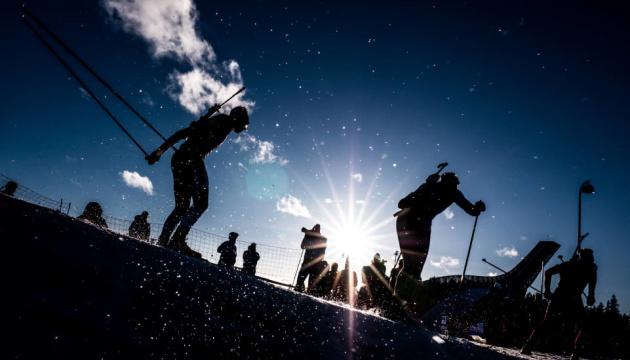 Українські біатлоністи посіли 6 місце в естафеті на шведському етапі Кубка світу