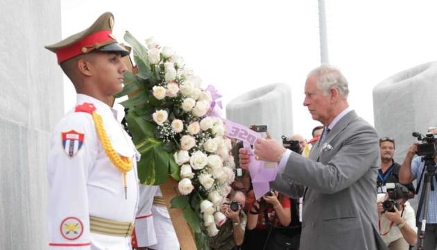 Уперше в історії Кубу відвідали члени британської монархії