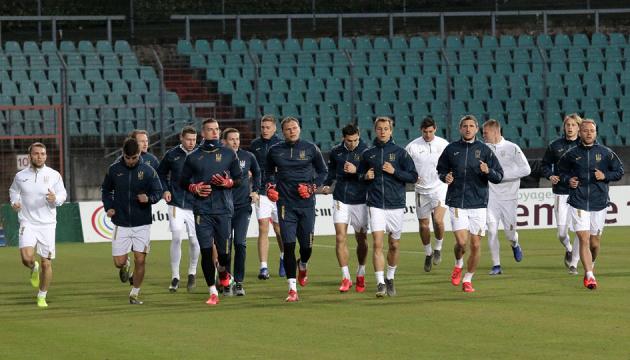 Футболісти збірної України провели відкрите тренування в Люксембургу