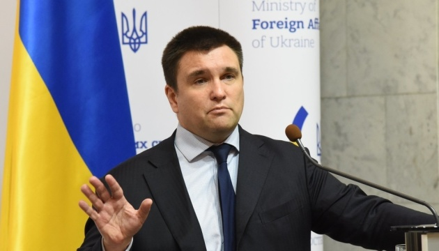 Клімкін: РФ буде змушена сісти за стіл переговорів щодо Криму