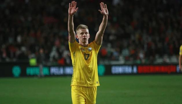 Зінченко планує побити рекорд Тимощука за кількістю матчів за збірну України