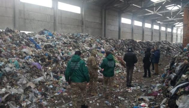 На Житомирщині перекрили трасу - протестують проти львівського сміття