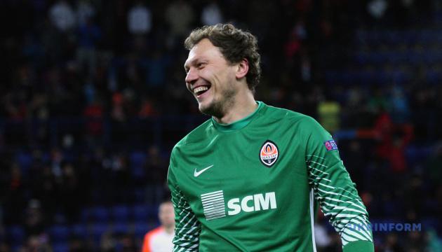 """Воротар """"Шахтаря"""" П'ятов наближається до рекорду в Лізі чемпіонів УЄФА"""