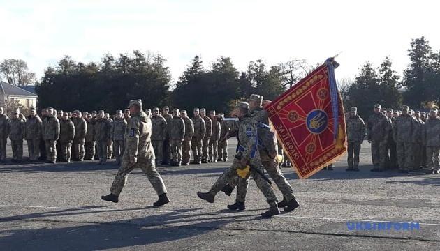 У Мукачеві урочисто зустріли бійців 128-ї ОГШБр, що повернулися з Донбасу