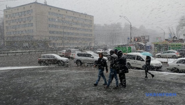 Está nevando en Kyiv (Fotos, Vídeo)