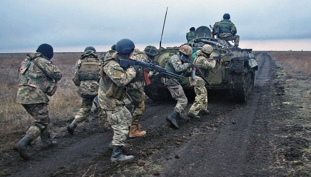 Russian-led forces fire 117 shells into Ukrainian troops in Donbas