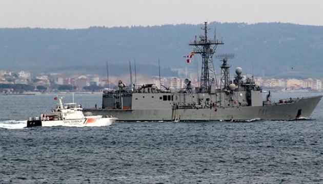 Через Дарданеллы прошли четыре корабля НАТО