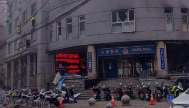 У Китаї на поліцейській дільниці підірвали бомбу