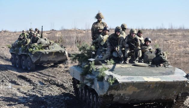 На Донбассе оккупанты лупят из артиллерии и минометов, ранен боец