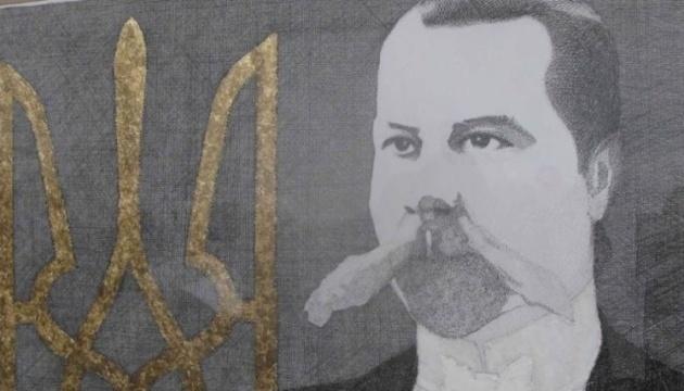 У Прилуках залили фарбою меморіальну дошку ідеолога українського націоналізму Міхновського