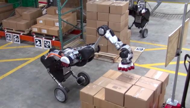 Image result for Boston Dynamics показали роботов-грузчиков
