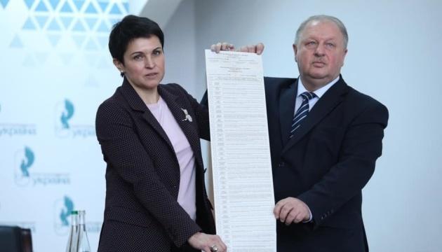 Вибори Президента: у бюлетені залишаються 39 кандидатів