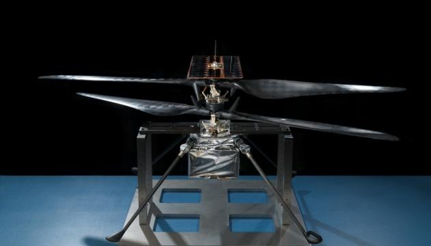 NASA випробувало марсіанський вертоліт