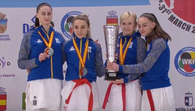 Жіноча збірна України – чемпіон Європи з карате