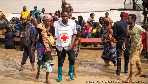 На Мозамбик обрушился ещё один мощный циклон