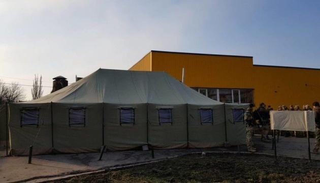 Les militaires ukrainiens votent dans le Donbass