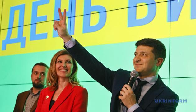 Дружина Зеленського повідомила, що це вона не радила йому виходити до журналістів