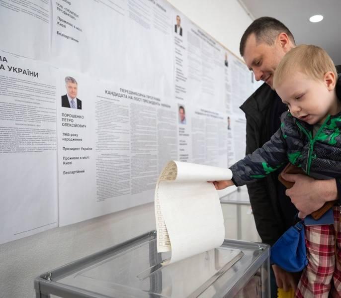 На виборчій дільниці в Мінську 31 березня 2019 року