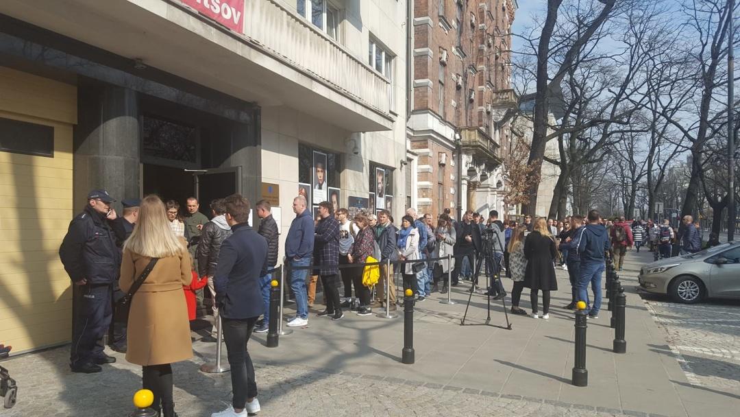Українці обирають Президента України. Варшава, 31 березня 2019 року
