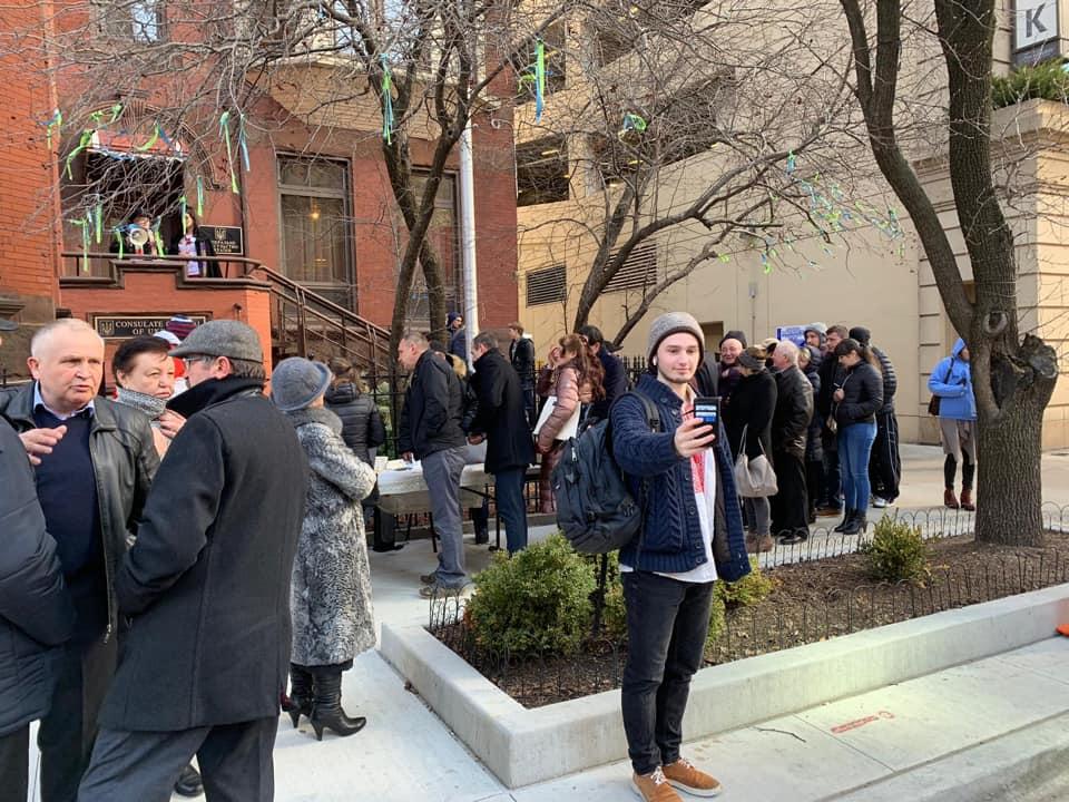 У Чикаго українці голосують за Президента на виборах 31 березня 2019 року