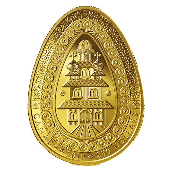 Royal Canadian Mint releases pure gold Ukrainian Easter egg coin
