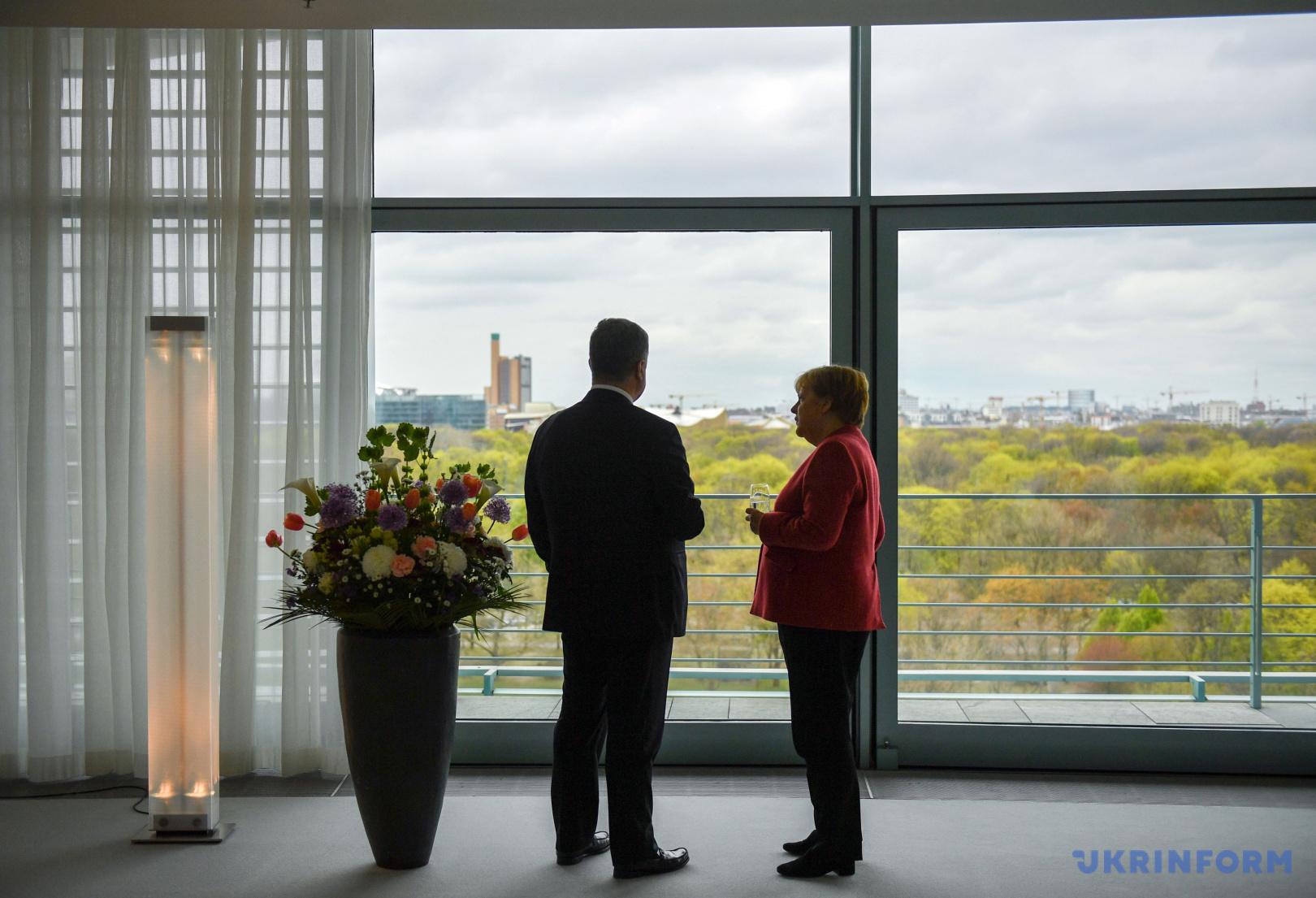 Петр Порошенко встретился с Ангелой Меркель / Фото: Лазаренко Николай