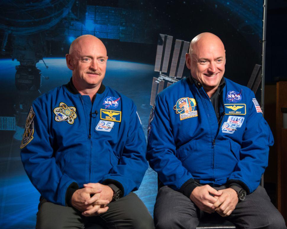 Астронавти Скотт (праворуч) і Марк Келлі
