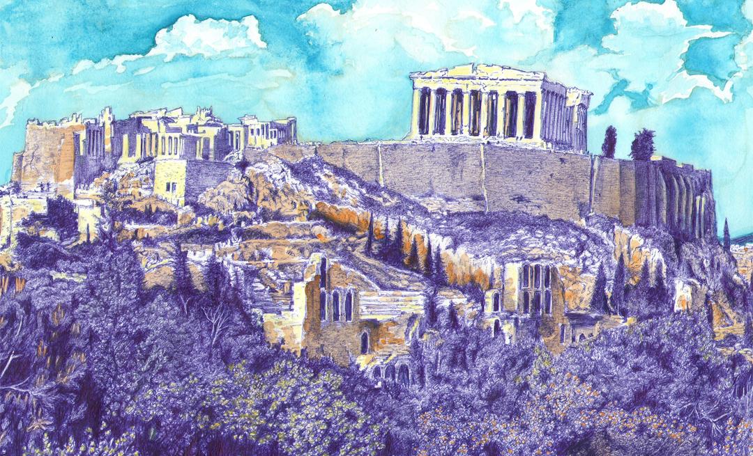 Греція. Акрополь