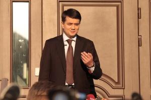 Для проїзду Зеленського не перекривають дороги - Разумков
